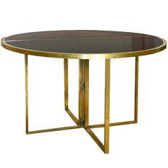 AuBergewohnlich Maison Charles Brass Table
