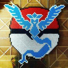 Pokemon Go perler beads by geek.works