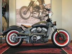 Indian Scout looking so 50's