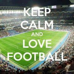 Keep Calm And Love Football Wallpaper Djiwallpaper Co