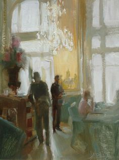 Musee D'Orsay Cafe, Paris by Johanna Harmon ....love love love eating inside the beautiful restaurant.