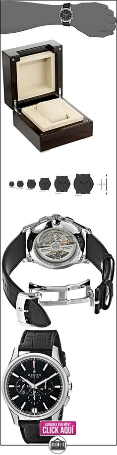 Zenith Classic Capitán Cronógrafo 36000VPH Mens Reloj Automático 03.2110.400/22.C493  ✿ Relojes para hombre - (Lujo) ✿ ▬► Ver oferta: http://comprar.io/goto/B00FM8DESA