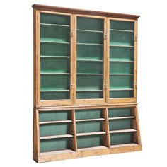English Apothecary Cabinet | From a unique collection of antique and modern apothecary cabinets at http://www.1stdibs.com/furniture/storage-case-pieces/apothecary-cabinets/