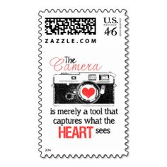 Capturing the Heart Postage Stamp