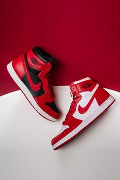 The legendary Jordan 1 started it all. Shop Air Jordan 1 in retro high, mid and low options in a variety of colorways. Nike Air Jordans, Tenis Nike Air, Air Jordan Sneakers, White Nike Shoes, New Nike Shoes, Nike Air Shoes, Moda Sneakers, Sneakers Nike, Jordan Shoes Wallpaper