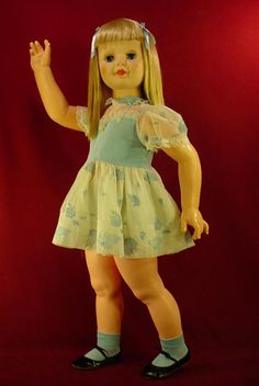 Reproduction 1960/'s Ideal SAUCY WALKER PLAYPAL doll WRIST hang TAG