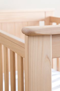 Based on timeless architectural design, the Plaza Cot Bed offers a beautifully minimal addition to any nursery. It features partially open end panels Wooden Baby Cot, Cot Bedding, Nursery Inspiration, Nursery Neutral, Easy Access, 5 Years, Birth, Architecture Design, Minimalism