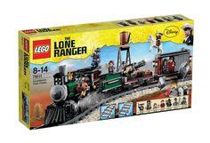 Lego The Lone Ranger - 79111 - Jeu de Construction - Course Poursuite dans le Train: Amazon.fr: Jeux et Jouets