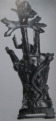 Backside of the hand of the Mystery cult of Sabazios