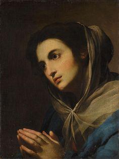 :::: ♡ ✿⊱╮☼ ☾ PINTEREST.COM christiancross ☀❤•♥•* :::: Massimo Stanzione Madonna in preghiera