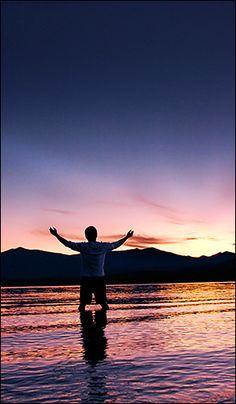Embracing Earth    Lake McDonald Montana, USA