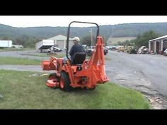 2010 Kubota BX25 Compact Tractor Loader Backhoe Mower For Sale Mark Supply Co - YouTube