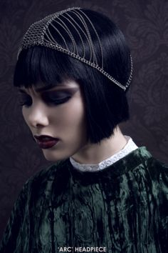 Arc Headpiece by Culietta   London