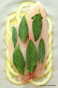 Roberta's Lemon Herb Fish (in parchment paper) - The View from Great Island