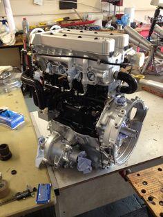 Engine Swap, Car Engine, Classic Mini, Classic Cars, Mini Drawings, Performance Engines, Mini Coopers, Small Cars, Automobile