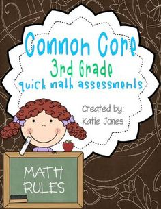 Common+Core+Quick+Math+Assesments+3rd+Grade+from+Katie+Jones+on+TeachersNotebook.com+-++(29+pages)+