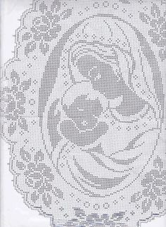 knitting for beginners easy Filet Crochet Charts, Crochet Doily Patterns, Crochet Doilies, Crochet Lace, Crochet Stitches, Embroidery Patterns, Hand Embroidery, Cross Stitch Borders, Cross Stitching