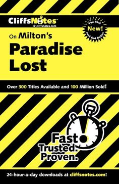 CliffsNotes on Milton's Paradise Lost (Cliffsnotes Literature Guides) by Bob Linn http://www.amazon.com/dp/0764586661/ref=cm_sw_r_pi_dp_qaNfub1JC8TND