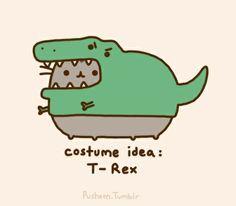 Costuum idee: T-Rex