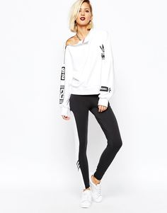 Image 1 of adidas Originals Rita Ora Leggings With Contrast Panel