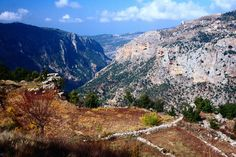 Qadisha Valley, Lebanon - My beloved is Lebanese, Would love to see it someday!