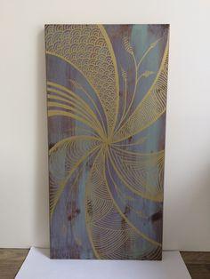 Tunella's Geschenkeallerlei präsentiert: Holzbild (T)unikat #tunellasgeschenkeallerlei #holzbild #handgemacht Curtains, Shower, Prints, Painting, Art, To Draw, Gifts, Rain Shower Heads, Art Background