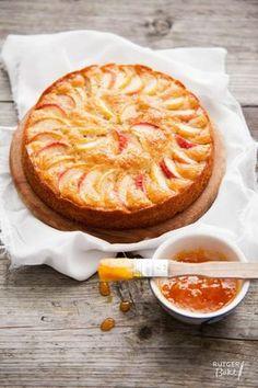 Apple Desserts, Just Desserts, Delicious Desserts, Apple Cakes, Baking Recipes, Cake Recipes, Custard Cake, Pie Cake, Food Cakes