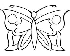 simple butterfly patterns - Google Search