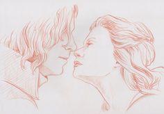 Belle and Rumpelstiltskin by Misaky on DeviantArt