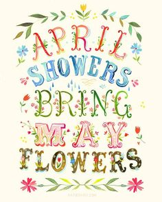 April Showers by Katie Daisy by melody