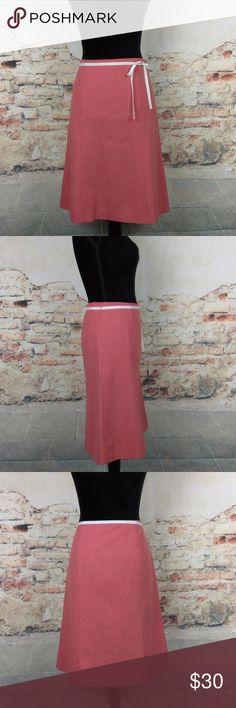 NWT J. Crew 8 Pink A-Line Stretch Wool Skirt NWT J. Crew Women's Size 8 Pink A-Line Skirt Stretch Wool Blend Fully Lined $98 J. Crew Skirts A-Line or Full