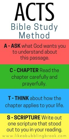 The ACTS Bible Study Method. This is so easy to remember! If you're looking for fresh Bible study tools, try the ACTS Bible study method. It's simple to use and will help you dig deeper in the Word! Bible Studies For Beginners, Bible Study Lessons, Bible Study Plans, Bible Study Notebook, Bible Study Journal, Scripture Study, Family Bible Study, Bible Study For Kids, Daily Bible Reading Plan