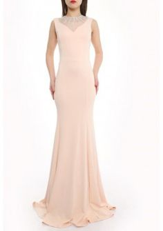 Elegante Abendmode Abendkleid Jasmin Rosa
