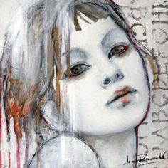 27 - Joan Dumouchel by Les Impatients Gcse Art, Portrait Art, Painting & Drawing, Figure Painting, Collage Art, Contemporary Art, Portrait Inspiration, Art Techniques, Figurative Art