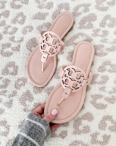 """c13f18227 Kristin Leahy on Instagram  """"When I saw my favorite sandals now come in  blush pink patent"""
