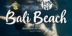 Font dňa – Bali Beach   https://detepe.sk/font-dna-bali-beach