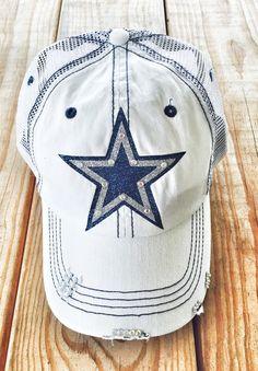 0b1ed4857e09c New Era Dallas Cowboys Ladies Chic Cadet Military Hat - Navy Blue ...