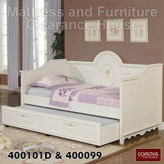 Coaster Sophie Daybed with Trundle 400101D/400099