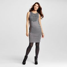 Maternity Crochet Front Dress