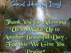 Good Morning Lord