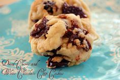 The Cookie A Day Challenge: Dried Cherry and White Chocolate Chip Cookies