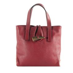 ~~ Burberry Leather Horn Toggle Tote  ~~