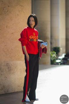Paris SS 2017 Street Style: Yoyo Cao