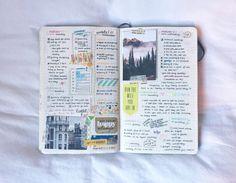 gentle & ruthless   Bullet Journal spread