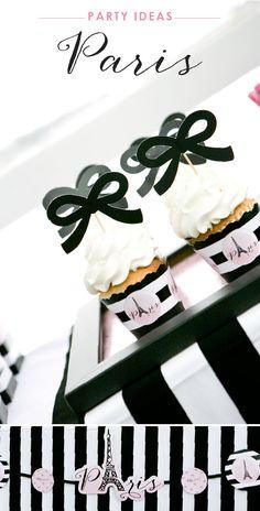 Ooh La La Favors Birthday Decoration Party Supplies Paris Thank You Tags 12pcs