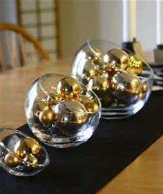 Black and Gold Table Decorations - Bing images