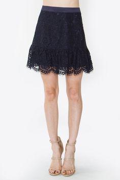 Lyla Lace Skirt