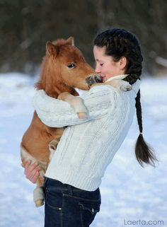 aaaaawwwweee!i think im going to die!! look at the little horsie!!