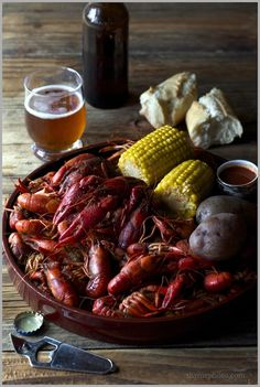 """Steamy Crawfish spiced with Cayenne Pepper, Corn, Potatoes, and Onions It's """"crawfish season"""" in the south. Since returning to the south, it's one of the culinary events that tugs at my cajun roots …the indulgence of all things made with crawfish. I grew up having no idea that others in this wide world would view...Read More »"""