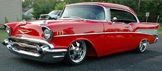 Slammed 1957 Chevy